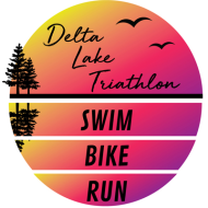 Delta Lake Triathlon logo 2020